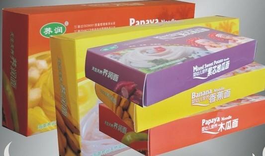 纸盒包装有存储保鲜防潮的作用,更有美观提高品牌知名度及附加值的作用